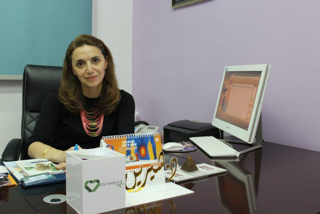 dr shireen khalil qatar dermatologist