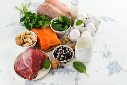 A healthy diet to prevent hair loss.